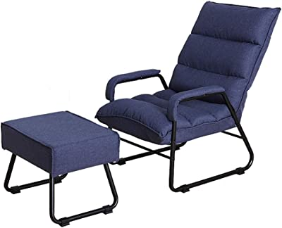 Amazon.com: Fine Mod LC4 Black Chaise Lounge Chair: Kitchen ...