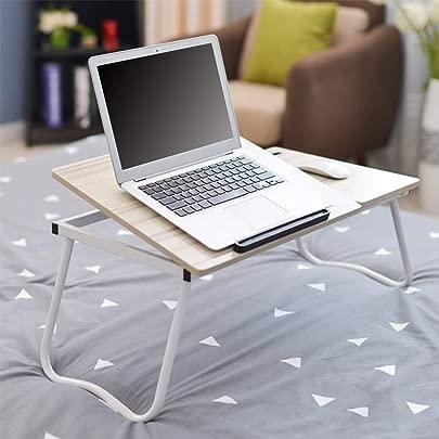 EbuyChX Klappbarer Notebook Tisch Verstellbarer Laptop Computer Schreibtisch Weiss