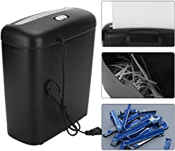 $31 » GOTOTOP Paper Shredder, 110V Home Office Electric Shredder for Paper and Credit Card Strip Cut Destroy 6-Sheet Strip Cut D...