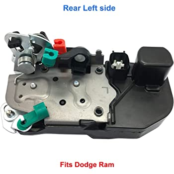 Amazon Com Rear Door Lock Actuator Left Driver 931 644 For Dodge Ram 1500 2500 3500 Door Lock Latch Actuator Motor Assembly 55276795ab Automotive