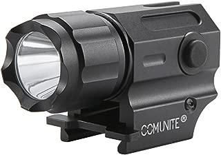 Comunite G03 600 Lumen Led Waterproof Tactical Strobe Pistol Flashlight Rail Mounted Compact Gun Light