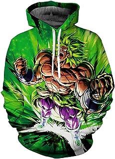 3003695ffac Hot New 2019 Dragon Ball z Super 3D Goku Broly Vegeta Men s Hoodies  Sweatshirts