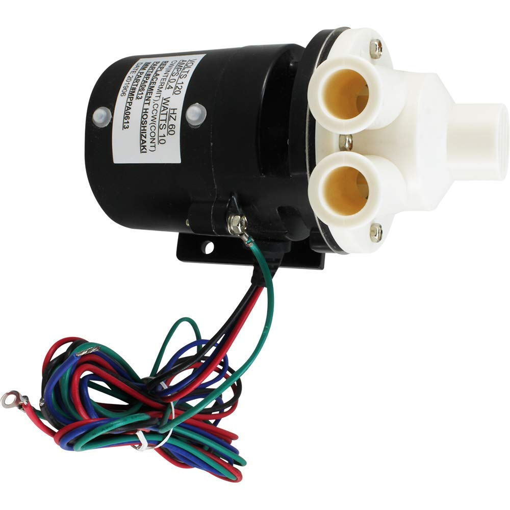 Pump Motor Assembly Replacement for Hoshizaki PA0613 Includes Ca