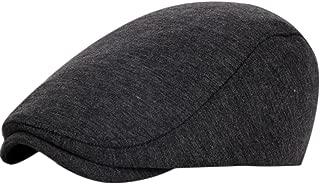 Wansan Men's Newsboy Gatsby Cabbie Hats Cotton Adjustable Driving Winter Hat