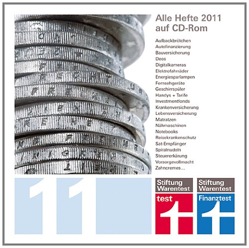 CD-ROM 2011 - test + Finanztest 2011 [import allemand]