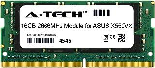 A-Tech 16GB モジュール ASUS X550VX ノートパソコン&ノートブック用 DDR4 2666Mhz メモリーラム対応 (ATMS394504A25832X1)