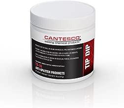 CANTESCO TD-16 Blue Premium Nozzle Tip Dip Plastic, 16 oz Jar