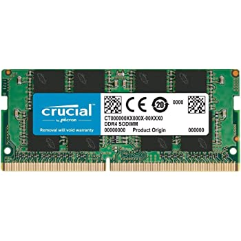 Crucial RAM 8GB DDR4 2666 MHz CL19 Laptop Memory CT8G4SFRA266