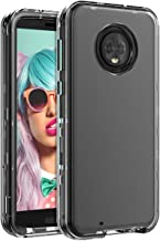 Miubox Case for Motorola Moto G6,Heavy Duty Shockproof Hard Plastic and TPU Bumper Protection Cover Case for Women Girls Men for Motorola Moto G6,Clear