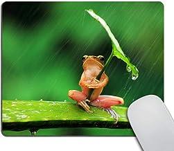 Wasach Alfombrilla de ratón para juegos personalizada, diseño de casa de árbol de fantasía en bosque personalidad para juegos, caucho, Multicolor 19, 240mmX200mmX3mm