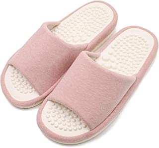 Acupressure Massage Slippers,Health Care Blood Activation Foot Relaxation Massage Shoes for Men and Women