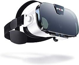 هدست واقعیت مجازی، عینک Osloon 3D VR برای بازی های موبایل و فیلم، سازگار 4.7-6.2 اینچی iPhone / Android Phone، از جمله آیفون XS / X / 8 / 8Plus / 7 / 7Plus / 6 / 6Plus / 6s / 5، سامسونگ، ال جی، Nexus و غیره