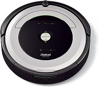 iRobot Roomba 680- Robot aspirador para suelos duros y alfombras, con tecnolog?a Dirt Detect, sistema de limpieza en 3 fases, programable