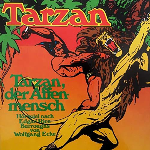 Couverture de Tarzan, der Affenmensch
