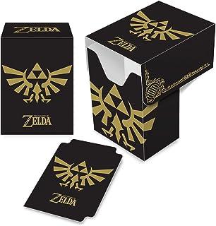 Ultra PRO Legend of Zelda - Hyrule Crest Full-View Deck Box (Black/Gold)