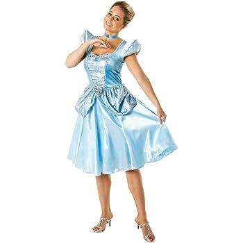 Disney Generique Disfraz de Cenicienta para mujer: Amazon.es ...