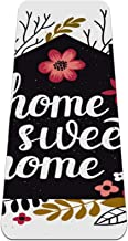 Yoga Mat Antislip TPE thuis zoet huis Hoge dichtheid vulling om pijnlijke knieën te voorkomen, Perfect voor yoga, pilates ...