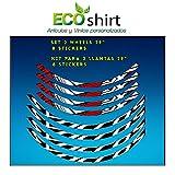Ecoshirt 7V-0EWD-DE7X Pegatinas Stickers Llanta Rim DT Swiss Syncross Xr25 29' Am42 MTB Downhill