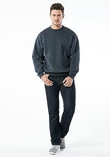 TESLA Men's Active Sweatshirt Performance Cotton Mix Hoodie
