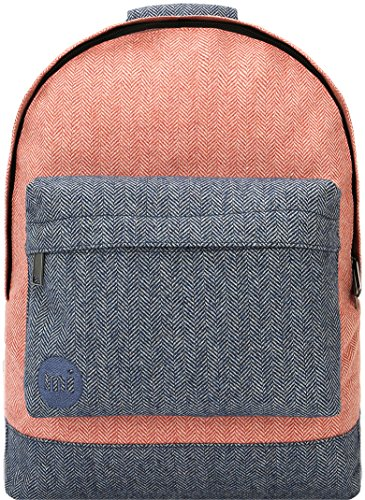 Mi-Pac Premium Backpack Mochila Tipo Casual, 41 cm, 17 Litros, Herring T/Navy