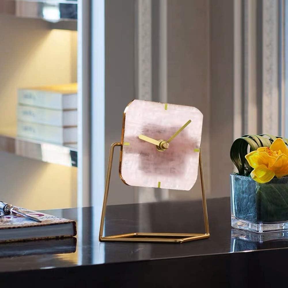 Ranking TOP15 zZZ European 35% OFF Light Luxury Desktop Style Table Clock