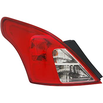 TYC 11-6402-00-9 Nissan Versa Left Replacement Tail Lamp