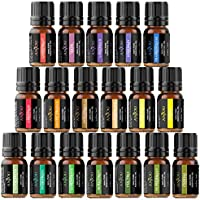 18-Pack Anjou Aromatherapy Essential Oil Set (5ml/Bottle)