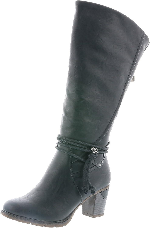 Rieker 96059-00 96059-00 96059-00 Schuhe Damen Stiefel Ankle Stiefel Varioschaft Warmfutter  3d50df