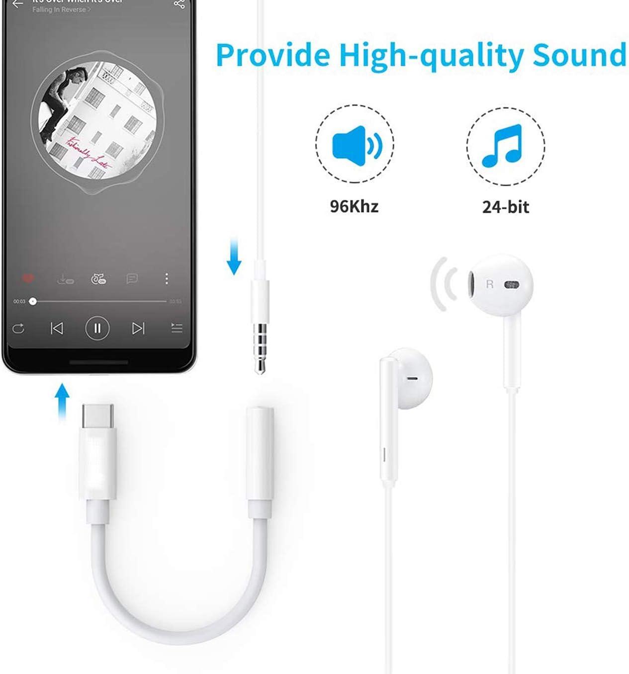 Blanc YHSRBD Adaptateur Casque pour iPhone 11 Adaptateur Aux Audio Connecteur Jack 3,5 mm C/âble Adaptateur Casque R/épartiteur pour Musique Compatible avec iPhone 11 Pro Max//X//XS//XR//7//8 pour Tous iOS