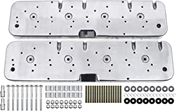 Fits 1958-86 Chevy LS Coil Valve Covers Adapter Kit Polished 3 Configuration