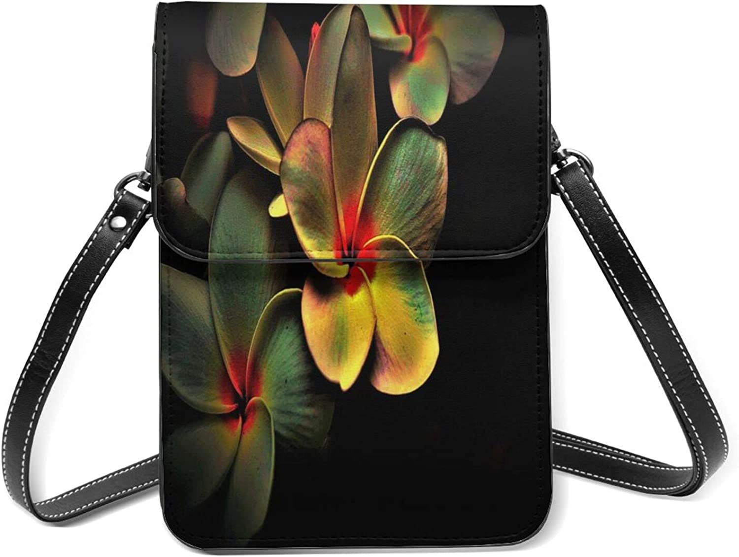 Flower Small Discount mail order Cell Today's only Phone Purse Shoulder With Flip Str Lightweight