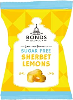 Original Bonds London Sugar Free Sherbet Lemons Bags Lemon Flavored Boiled Sweets With A Sherbet Centre Sugar Free Imported From The UK England British Candy
