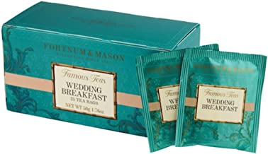 Fortnum & Mason British Tea, Wedding Breakfast, 25 Count Teabags (1 Pack) - Seller Model Id Wbsfl098b