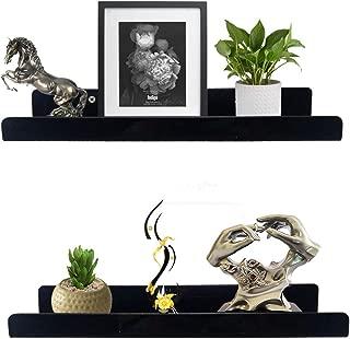 60 black shelf