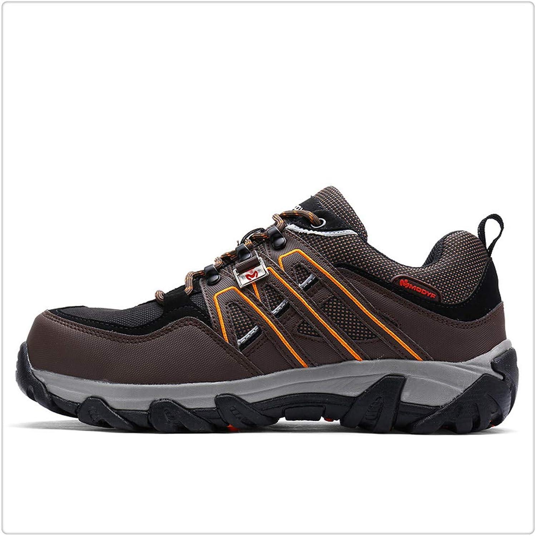 8914a32bb6378 Hngchangji Men Men Men Steel Toe Safety Work shoes Breathable Hiking ...