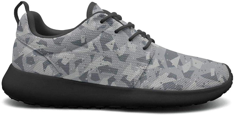 Wuixkas Camo Camouflage Geometric Womens Lightweight Mesh Sneakers Climbing Basketball shoes