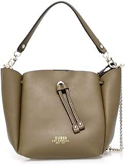Guess Handbag Set For Women  Olive - VG709673