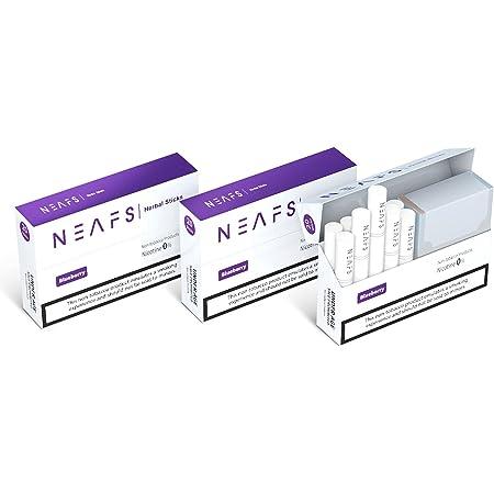 加熱式タバコ Neafs ニーフス 加熱式スティック IQOS 互換機用 加熱式 たばこ 禁煙グッズ 禁煙タバコ (ブルーベリー, 3箱セット (1箱20本入))