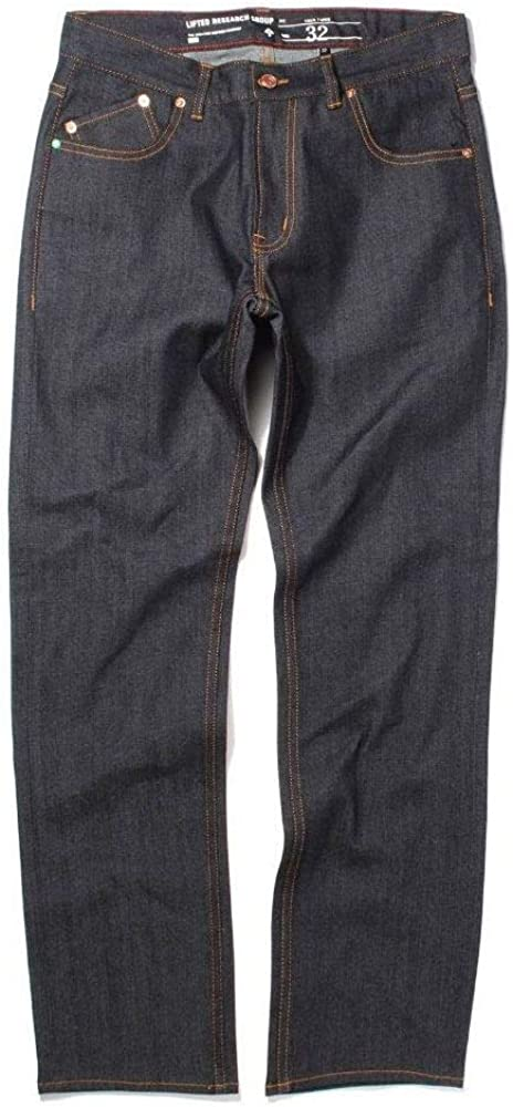LRG RC True Max 83% OFF Tapered Indigo Jeans Raw Easy-to-use Fit