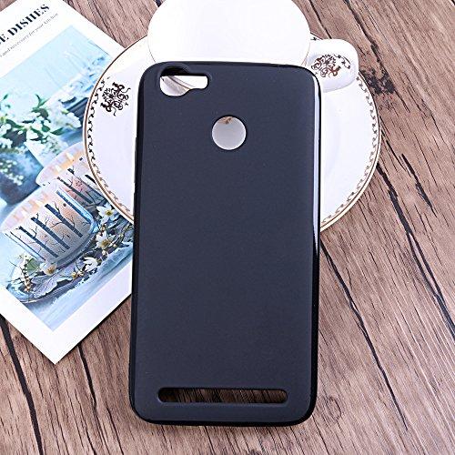 Easbuy Handy Hülle Soft Silikon Case Etui Tasche für HOMTOM HT50 Smartphone Cover Handytasche Handyhülle Schutzhülle