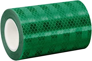 3M 3437 Green Micro Prismatic Sheeting Reflective Tape, 6
