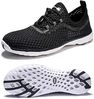 أحذية SUOKENI للرجال سريعة الجفاف سهلة الارتداء للرياضات المائية أو الشاطئ