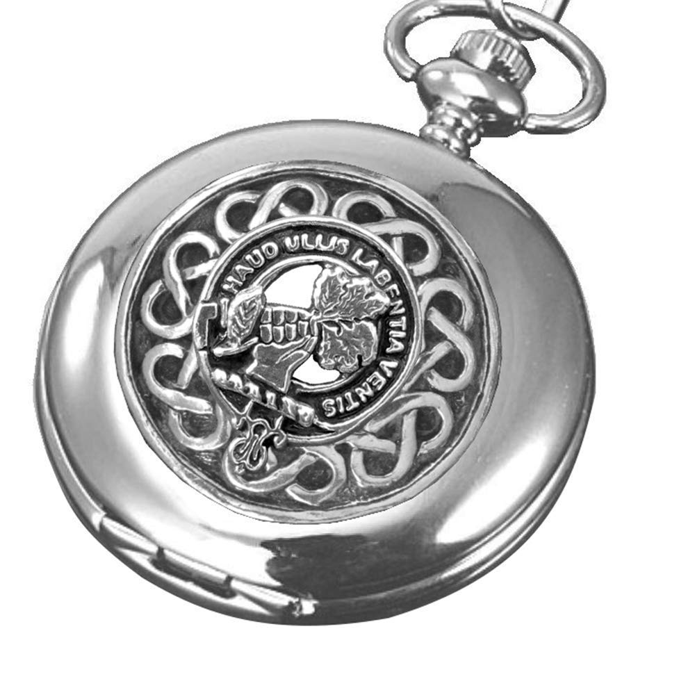 Irvine Bonshaw Scottish Silver Clan Crest Steel Pock Memphis Mall Year-end annual account Stainless