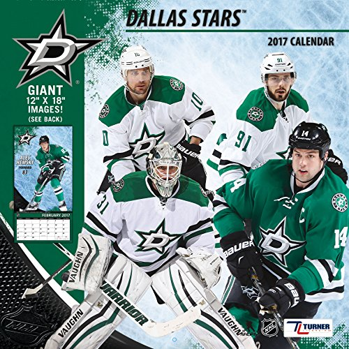 "Turner Licensing Sport 2017 Dallas Stars Team Wall Calendar, 12""X12"" (17998011939)"