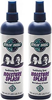 Stylin' Dredz Moisture Splash Conditioning Spray Hair Care 350ml Pack Of 2