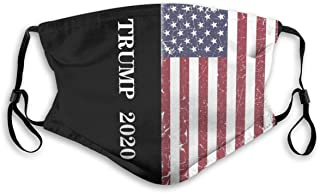 Trump 2020 Unisex Adjustable face mask comfortable reusable washable halloween made in USA