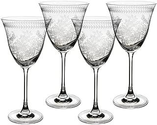 Portmeirion Botanic Garden Wine Glasses Set of 4