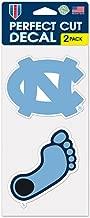WinCraft NCAA University of North Carolina Perfect Cut Decal (Set of 2), 4