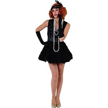 Stamco Disfraz de Charlestón para Mujer: Amazon.es: Juguetes y juegos