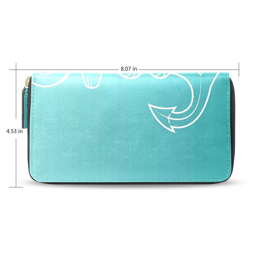 スリップシューズ組み合わせるお互いレディースアンカーパターン長財布&財布ケースカードホルダー